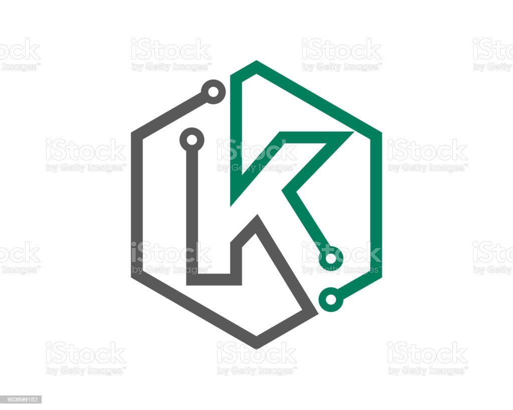 Letter K Template Design Vector, Emblem, Design Concept, Creative Symbol,  Icon Royalty