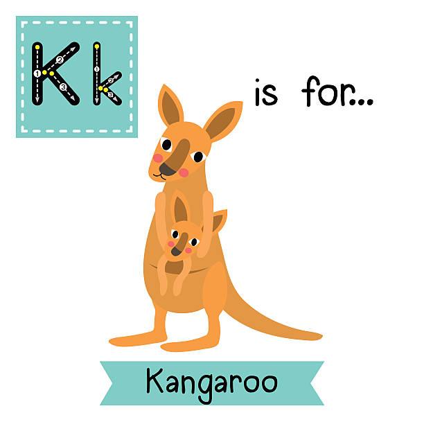 Royalty Free Baby Kangaroo Cartoons Clip Art, Vector ...