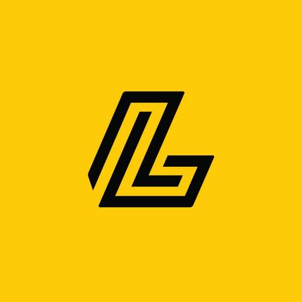 Letter L icon Letter L icon letter l stock illustrations