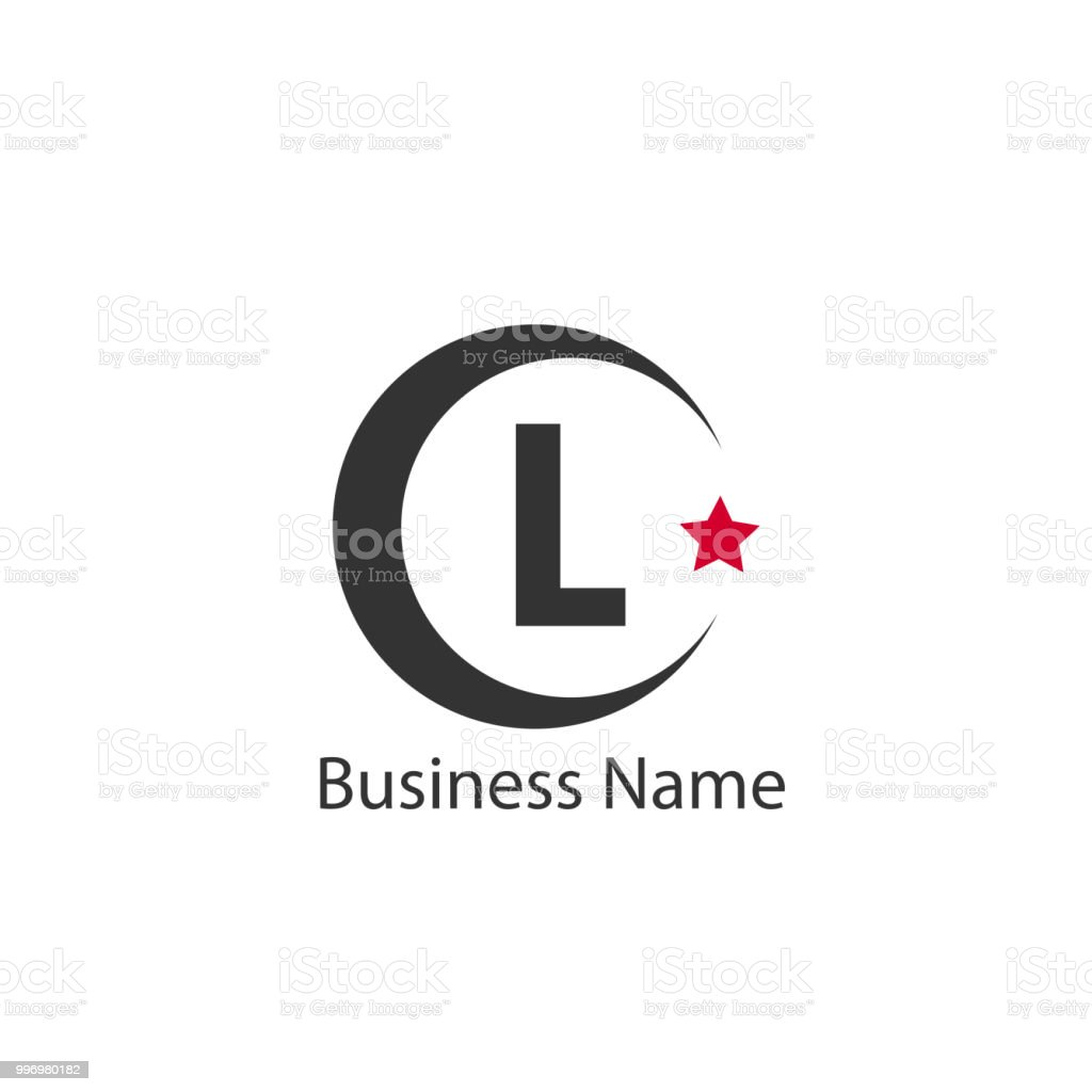 Letter L Logo Template Stock Vector Art More Images Of Abstract