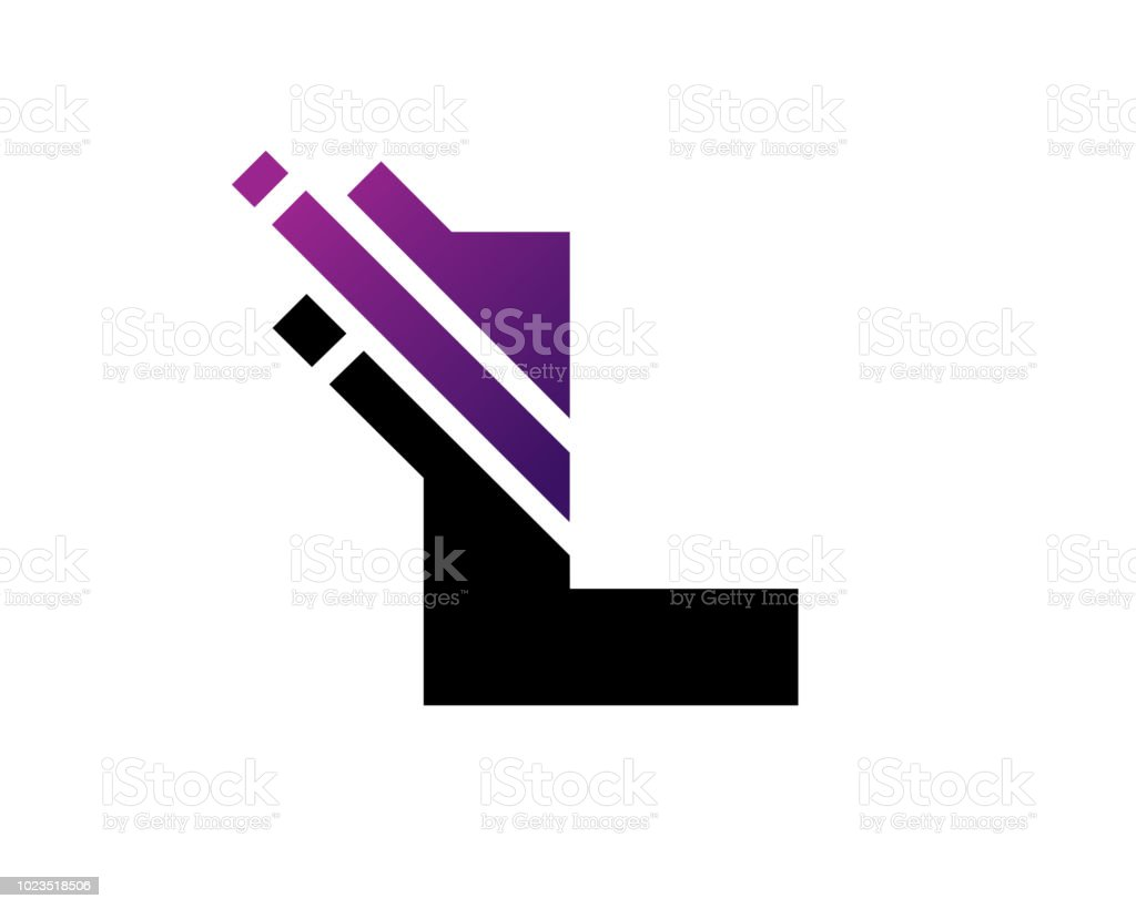 letter l symbol design template royalty free letter l symbol design template stock vector art