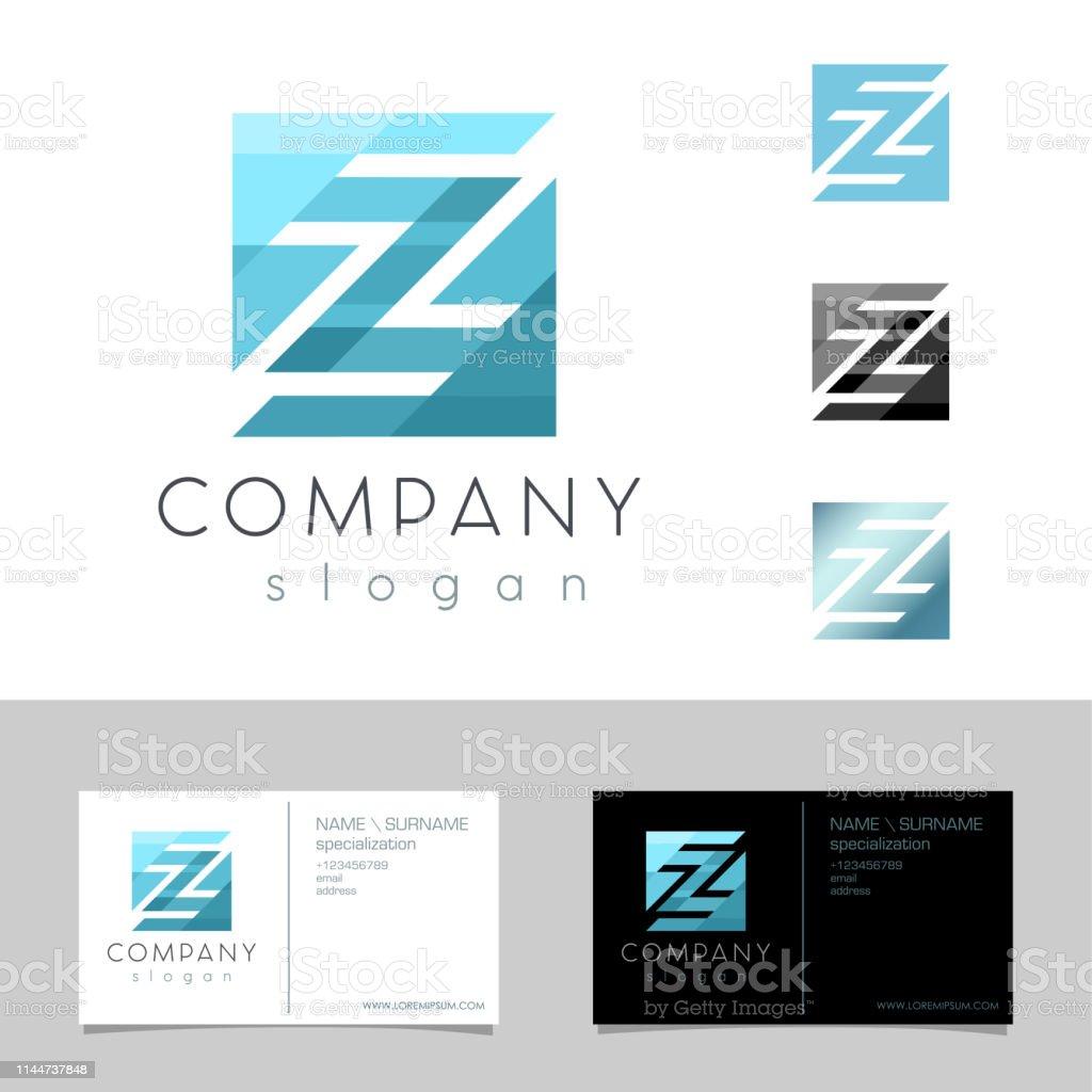 Z Letter Logo Concept Emblem Design Template Graphic