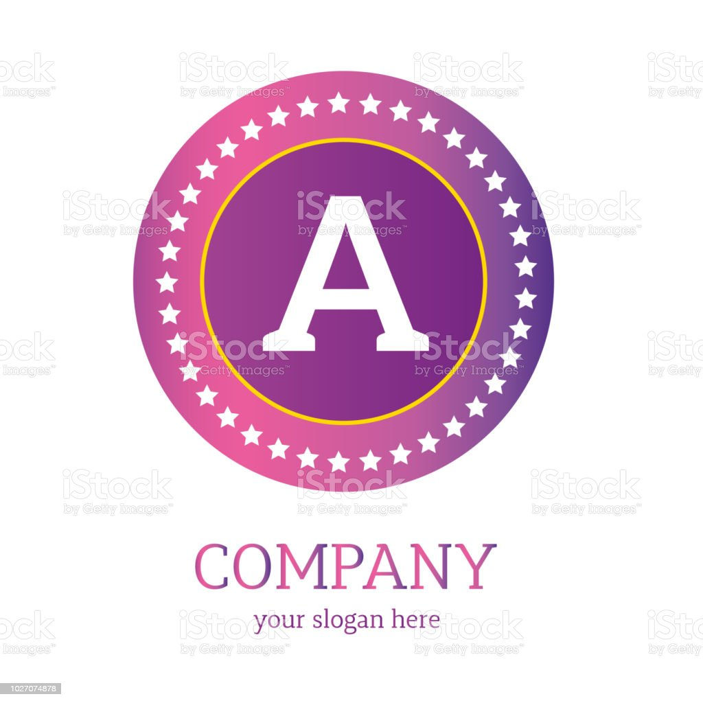 A Letter Logo Design A Icon Colorful And Modern Logo Design A Vector ...