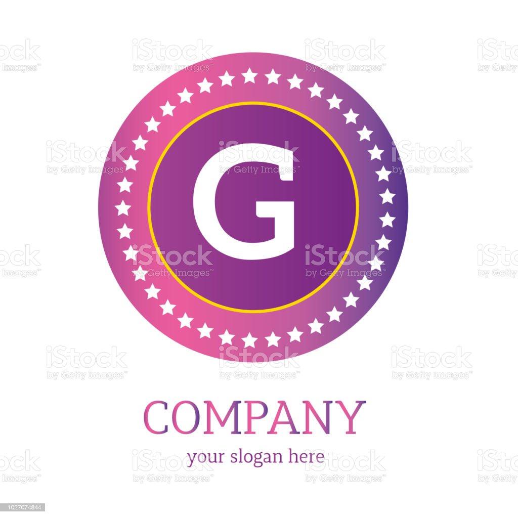 Gbrieflogodesign Gsymbol Bunte Und Moderne Logodesign Gvektorlogo Stock Vektor Art Und Mehr Bilder Von Abstrakt