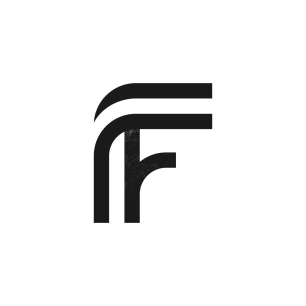 Letter F Illustrations, Royalty-Free Vector Graphics