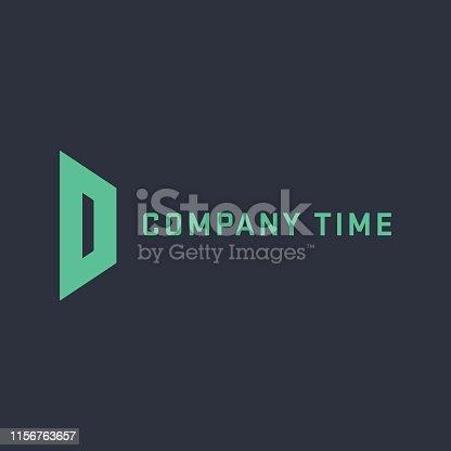 Branding, Letter D, Logo, Abstract, Alphabet