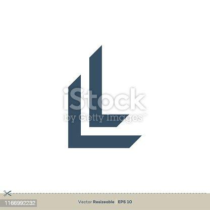 L Letter Logo Template Illustration Design. Vector EPS 10.