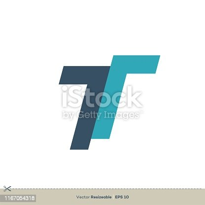 T letter logo template Illustration Design. Vector EPS 10.