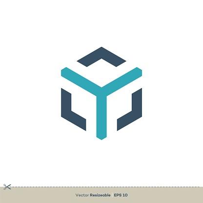 Y Letter logo Template Illustration Design. Vector EPS 10.
