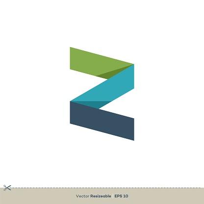 Z Letter Logo Template Illustration Design. Vector EPS 10.