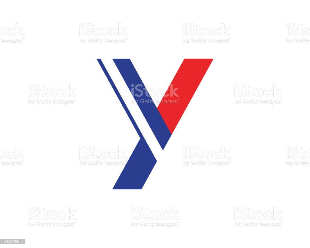 40c696be6 Y letra logotipo modelo vetorial ícone do design vetor de y letra logotipo  modelo vetorial ícone