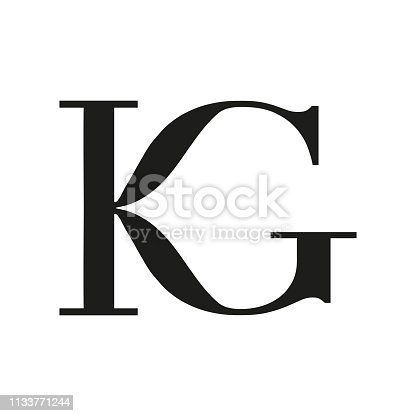 KG letter logo