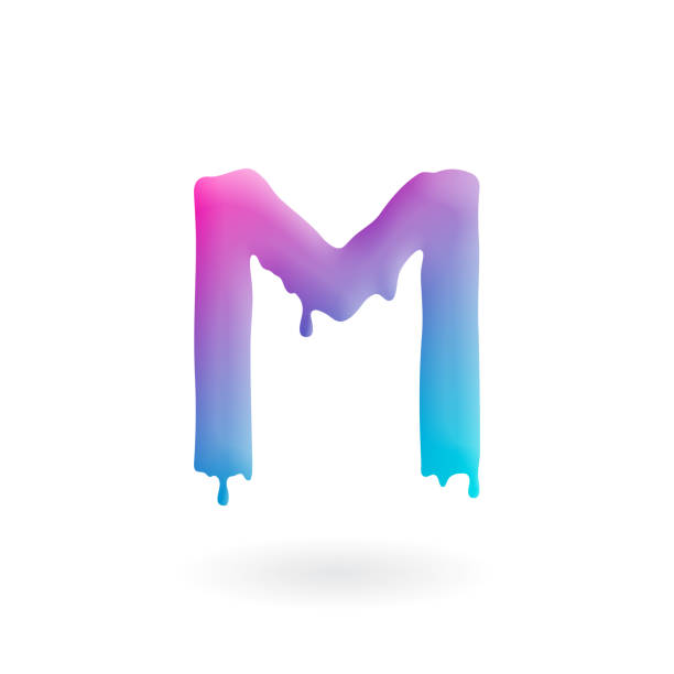 Best M Bubble Letter Illustrations, Royalty-Free Vector