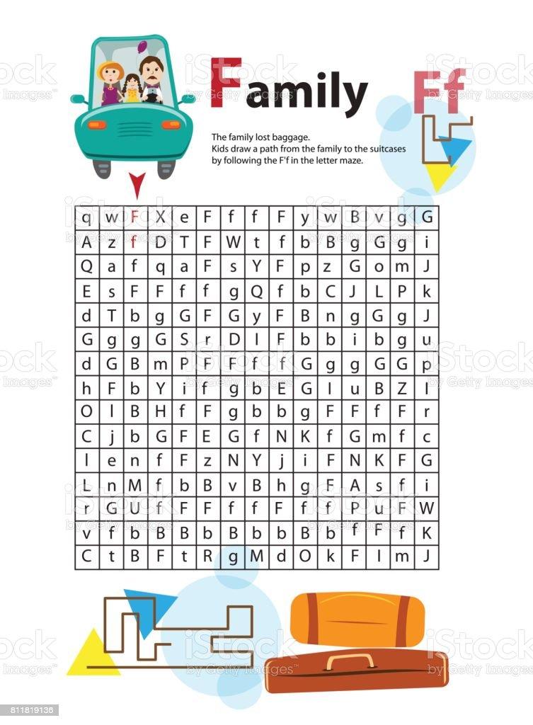 Brieflabyrinth F Dieses Arbeitsblatt Hilft Kindern Erkennen Und ...