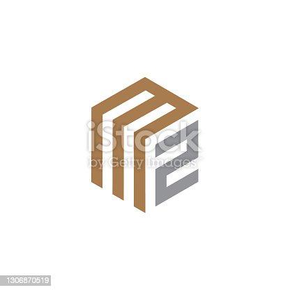 istock Letter MZ Logo Template 1306870519