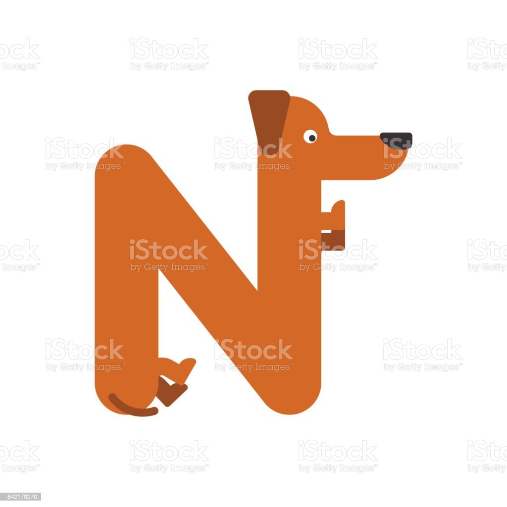 Image of: Cartoon Animals Letter Is Dog Pet Font Dachshund Alphabet Lettering Home Animal Illustration Istock Letter Is Dog Pet Font Dachshund Alphabet Lettering Home Animal
