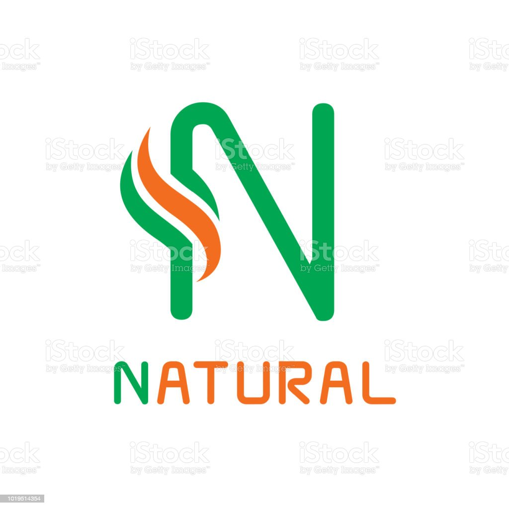 letter n template design creative symbol icon royalty free letter n template design