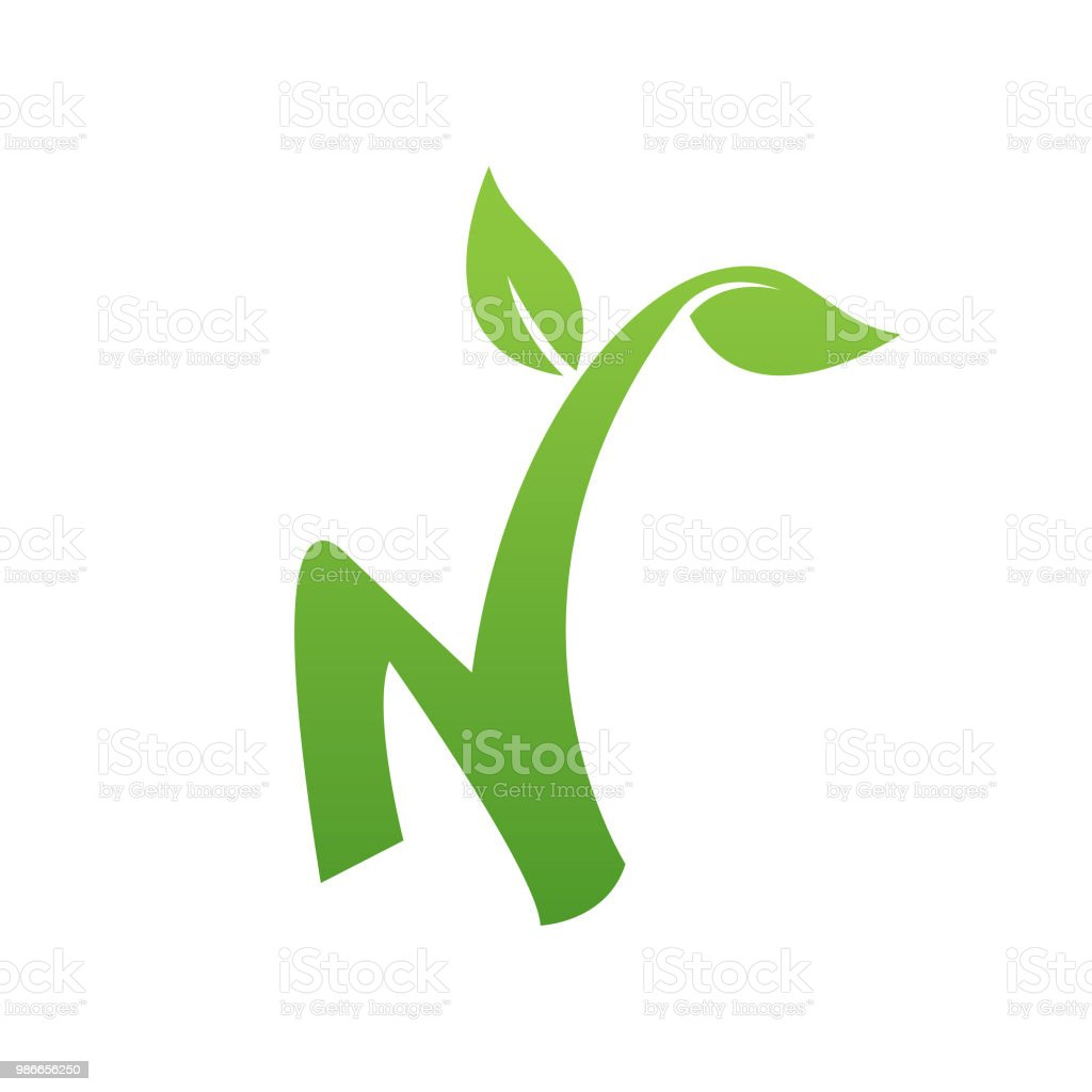 n letter nature logo stock illustration download image now istock n letter nature logo stock illustration download image now istock