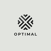 Letter O Logo Icon Design Template. Technology Abstract Line Connection Circle Vector Logotype