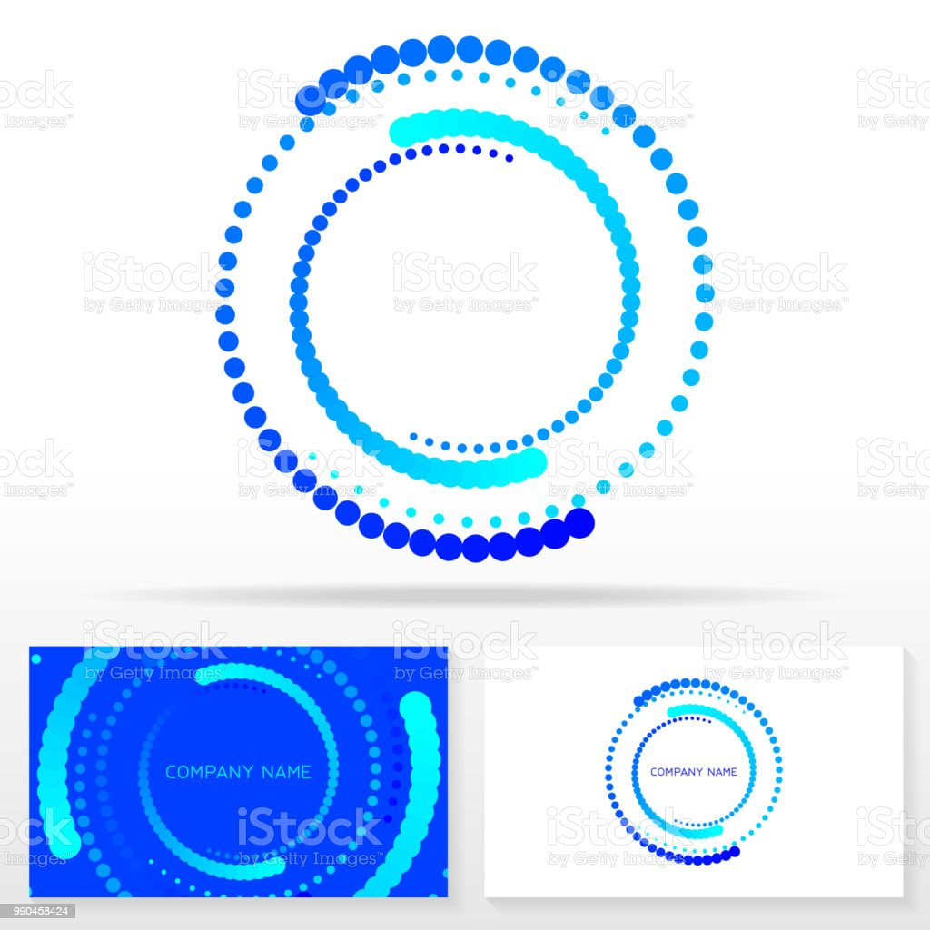 letter o sign design and business card templates stock vector art
