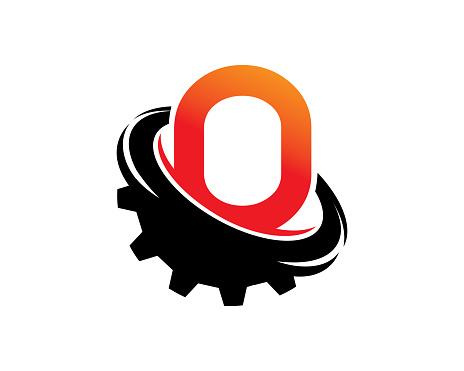Letter O Template Design Vector, Emblem, Concept Design, Creative Symbol, Icon