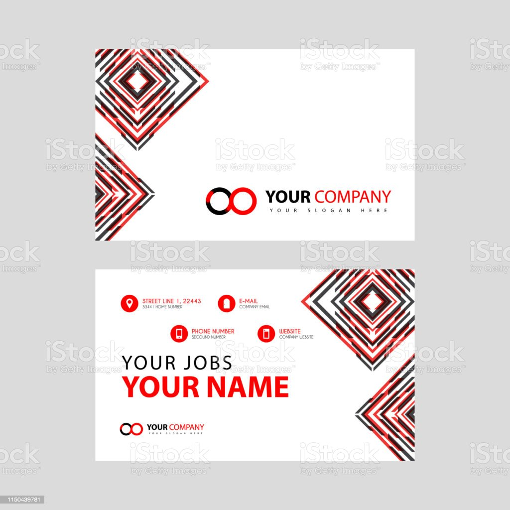 Letter Oo Logo In Black Which Is Included In A Name Card Or