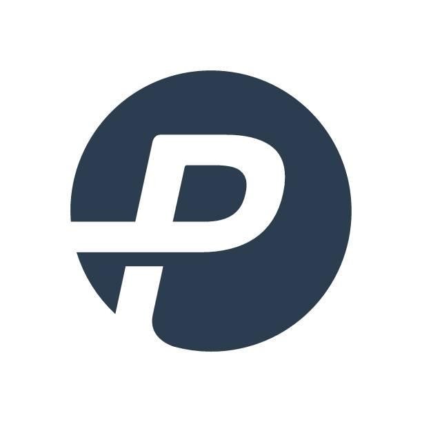 stockillustraties, clipart, cartoons en iconen met letter p logo icoon - letter p