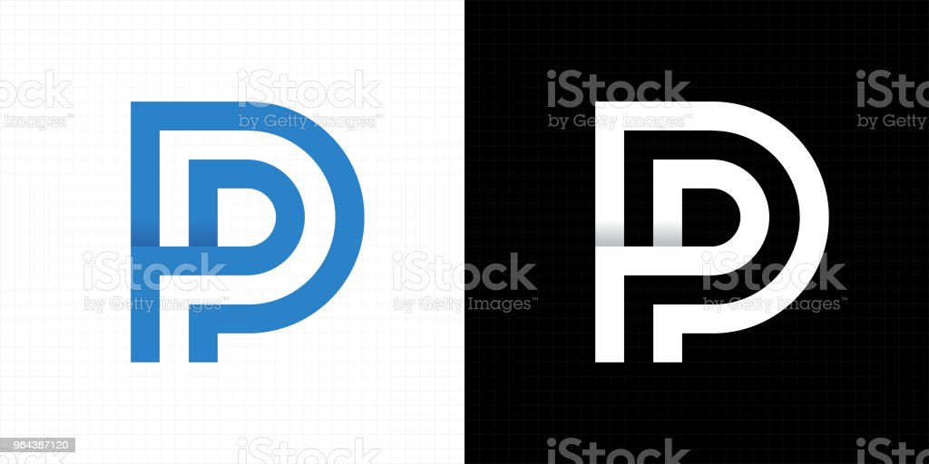 Letter P Logo Icon Stock Vector Art More Images Of Abstract