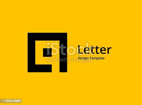 Letter Q or number 9 logo icon design