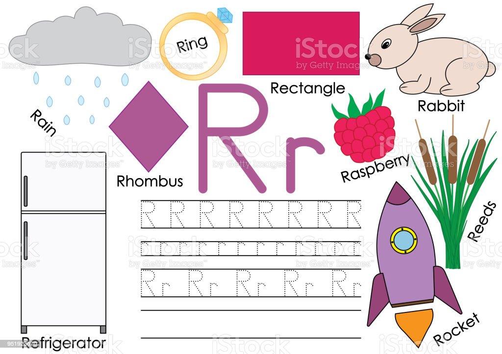Brief Von R Karte Mit Bildern Und Schreiben Praxis Für Kinder Im
