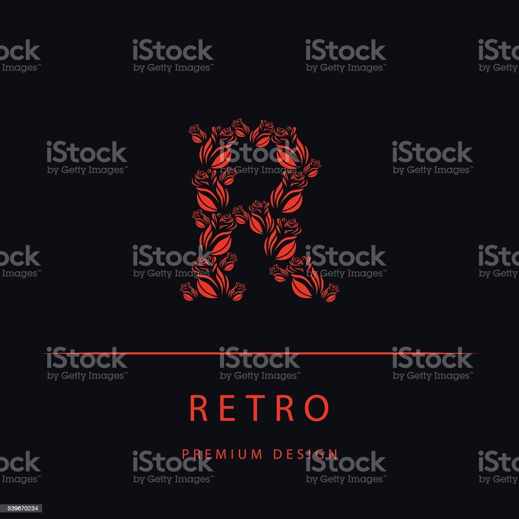 The Letter R Small Diamond Initial Pendant Diamonds Heartsonfire