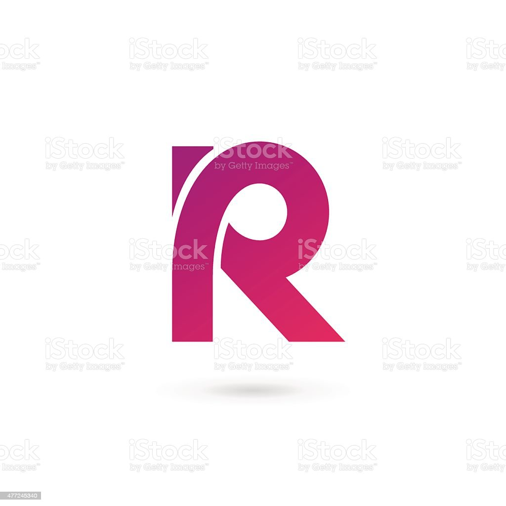4e007a1d Letter R icon royalty-free letter r icon stock vector art & more images