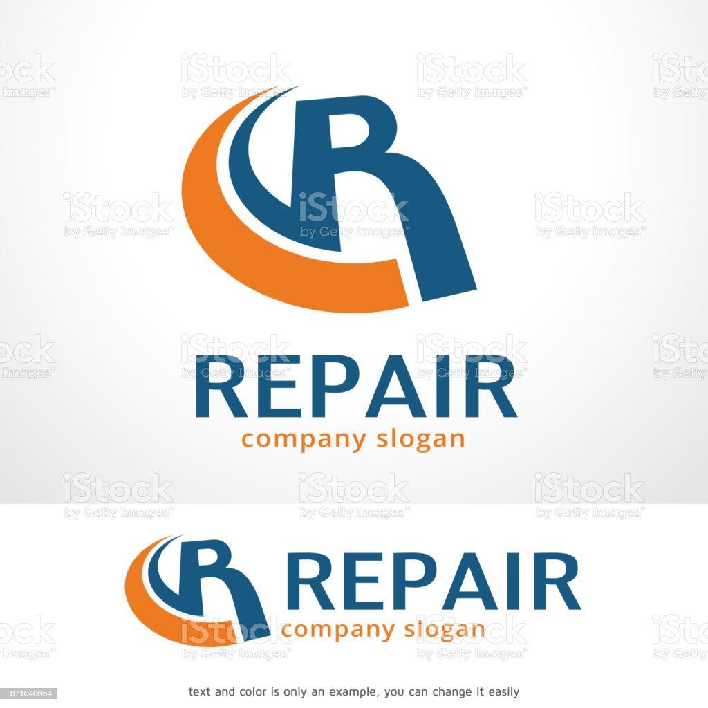 Letter R Symbol Template Design Vector Emblem Design Concept