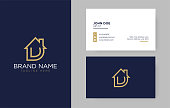 D Letter Real Estate Logo Design - Real estate logo.