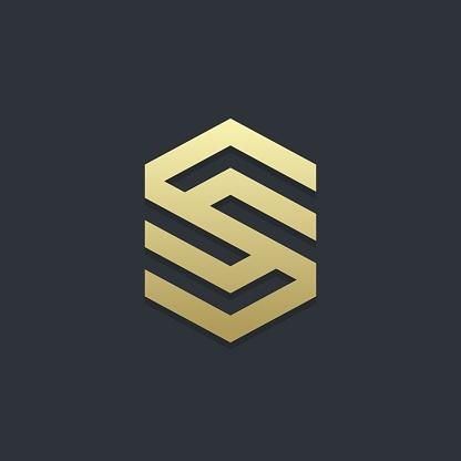 Letter S logotype concept.