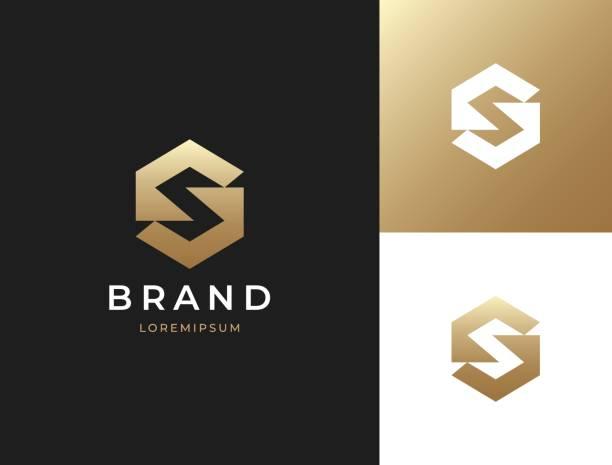 Letter S monogram. Vector icon template. Letter S monogram. Vector icon template. safety american football player stock illustrations