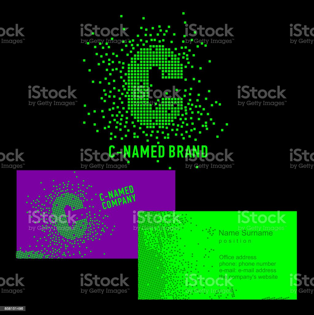 C letter sign template c brand name company corporate identity for template c brand name company corporate identity for the company wajeb Image collections