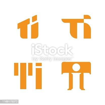 Letter T, Letter I, Symbol, Text, Logo