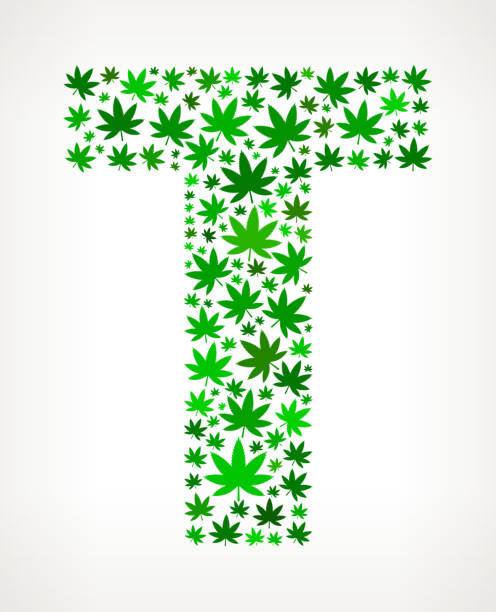 Royalty Free Marijuana Symbol Text Clip Art Vector Images