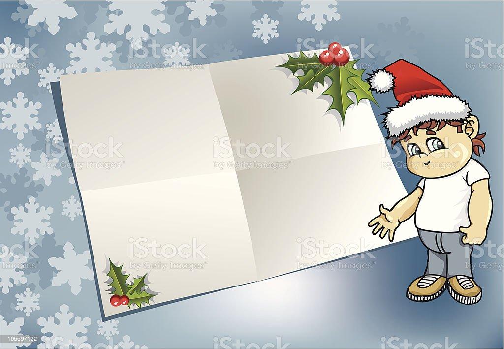 Carta de Santa Claus ilustración de carta de santa claus y más banco de imágenes de alegre libre de derechos