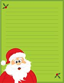 Cute stationary to write a letter to santa on!
