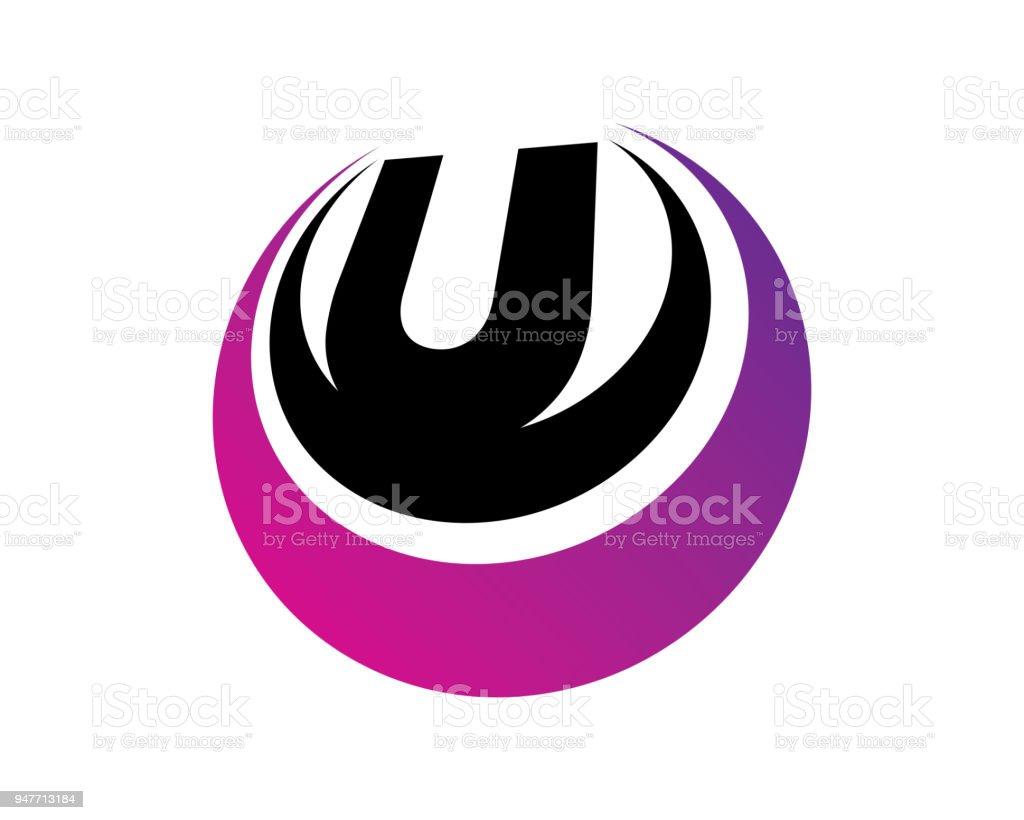 Letter U Template Design Vector Emblem Design Concept Creative