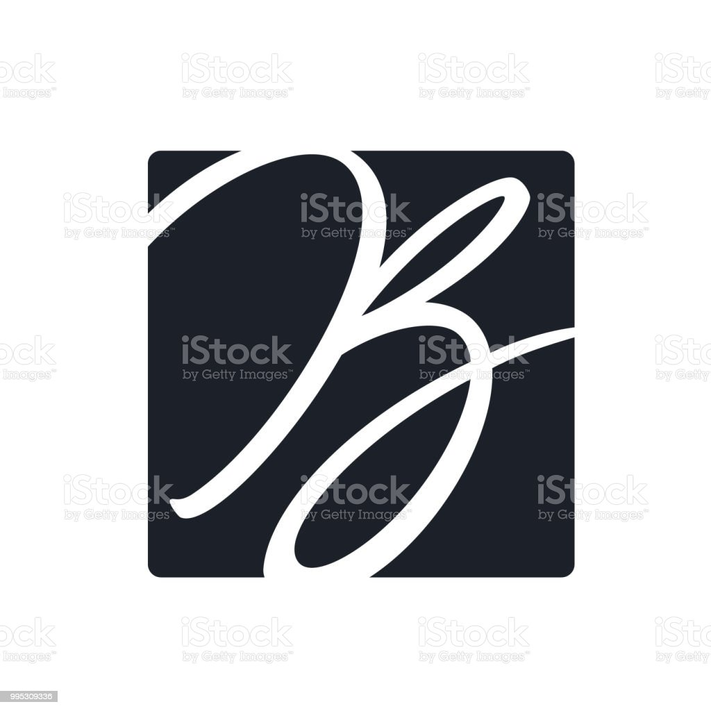 Letter vector logo design vector art illustration