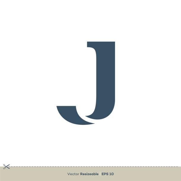J Letter vector Logo Template illustration design. Vector EPS 10. J Letter vector Logo Template illustration design. Vector EPS 10. letter j stock illustrations
