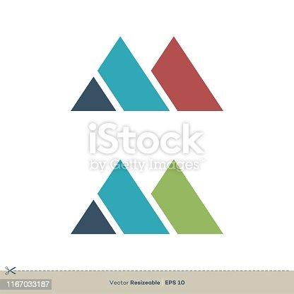 M Letter vector Logo Template Illustration Design. Vector EPS 10.
