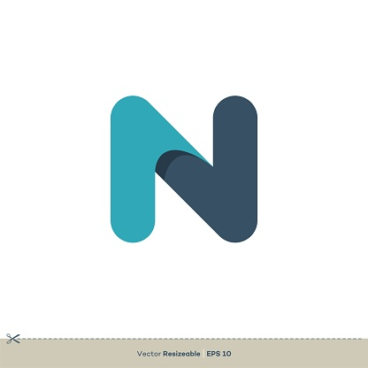 N Letter vector Logo Template Illustration Design. Vector EPS 10.