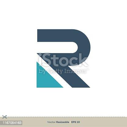R Letter vector Logo Template Illustration Design. Vector EPS 10.
