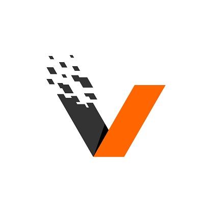 V Letter Vector Logo Template Illustration Design. Vector EPS 10.