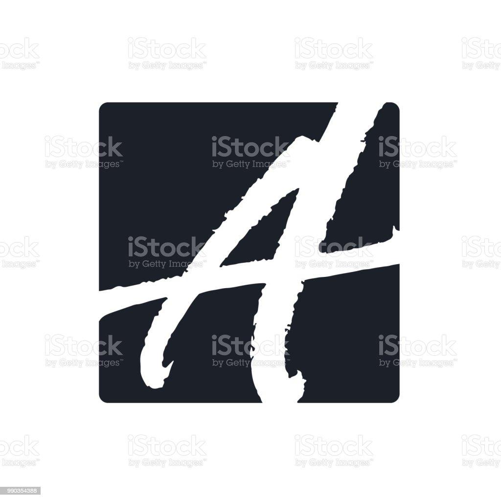 Letter vector symbol design vector art illustration