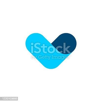 istock V Letter vector  Template Illustration Design. Vector EPS 10. 1220103693